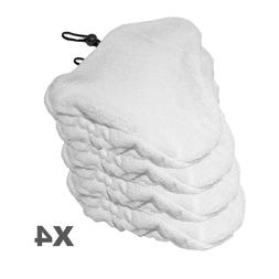 Clean Co. Compatible Steam Mop Pads for Steamboy & Bissell M