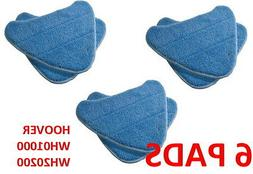 6 PACK Hoover Steam Mop Pads Compatible WH20200 Steam Mop #