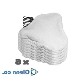 SHP-ZONE 6 Pads Replacement Compatible with H2O H20 Steam Mo