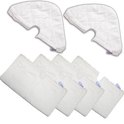 6 Refill Steam Mop Replacement Pocket Pads For Shark S3501 S