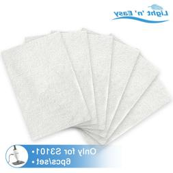 6Pcs/Set Steam Mop Pads Original Reusable Replacements for L