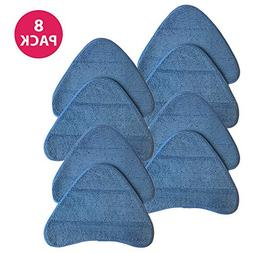 8 PADS. Type WH01000 pads for Hoover WH20200 steam mop and W