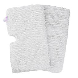 Flammi 2 Pack Replacement Microfiber Steam Mop Cleaning Pads