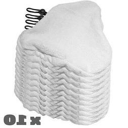 Clean Co 10 Replacement Pads Compatible with H2O H20 Steam M