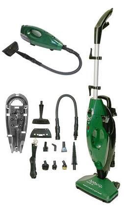 Gruene Clean System Steam Mop & Hand Held Steamer w/ Attachm