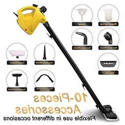 ENSTVER Handheld Pressurized Steam Cleaner,Steam Mop,Floor C