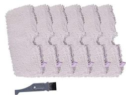 I clean Replacement Shark S3601 Steam Mops, 6Packs Pocket Mi