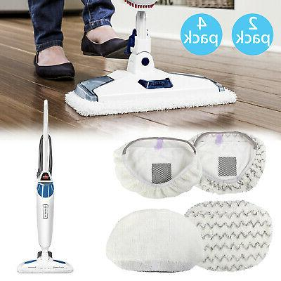 2/4x Replacement Steam Mop Pads for Bissell Symphony Powerfr