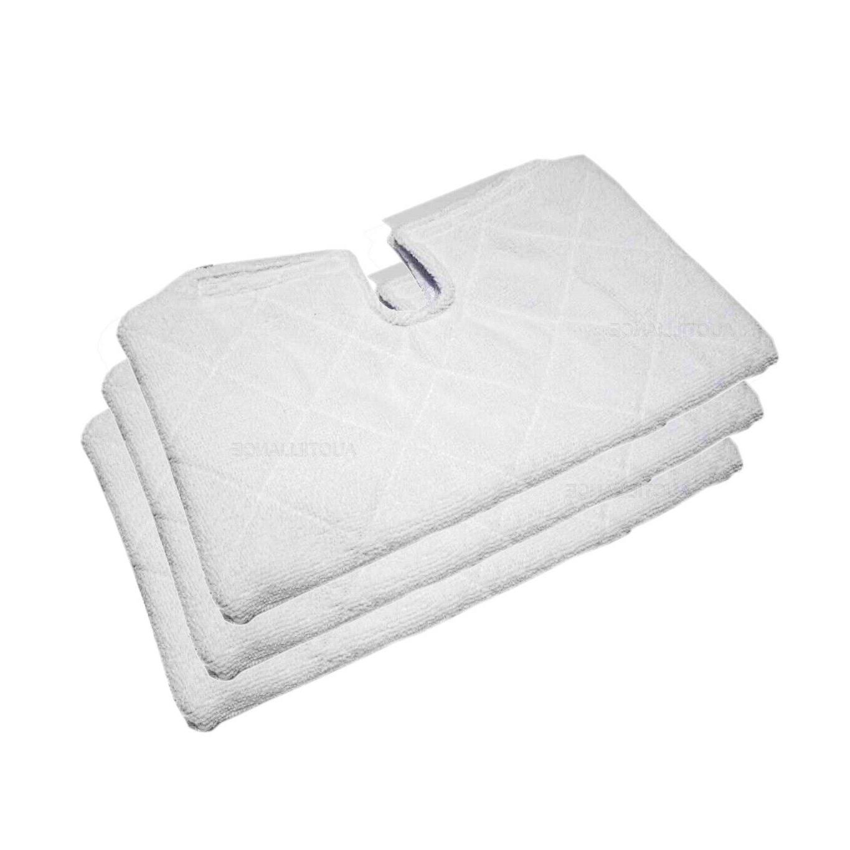 3 steam pocket mop pads