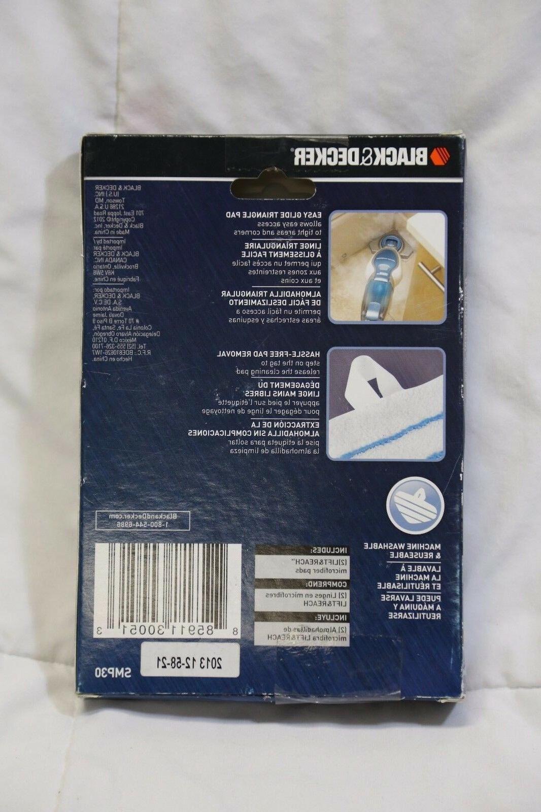 Black Decker Washable Reach SMP30 2 Pack