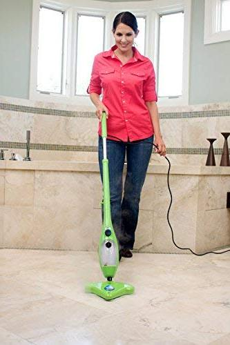 H2O Mop - 5 in 1 Steam Mop for Carpets, Mirror and Glass Cleaner and All in