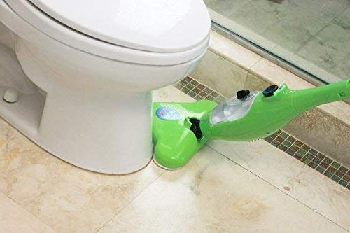 H2O X5 - 5 Steam Carpets, Hand-Held and in One!