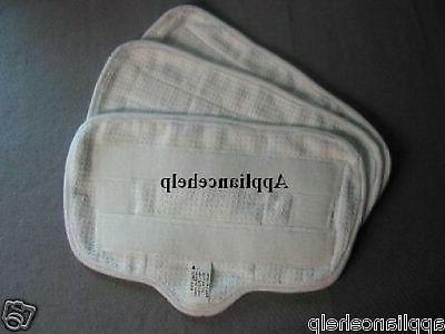 home tek deluxe fibre steam mop pads