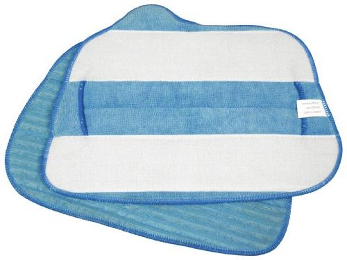 Steamfast Replacement Microfiber Cloths for Steam Mop, 2-Pad