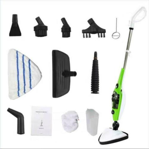 Steam Mop Cleaner 10-in-1 with Handheld Unit ✅✅
