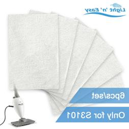 LIGHT 'N' EASY 6Pcs/Set Steam Mop Pads Original Replacements