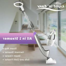 LIGHT 'N' EASY Steam Mop Handheld Garment Steamer Hard Floor