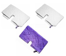 Astar 3 Pack New Rectangle Microfiber Pad for Shark Pocket S