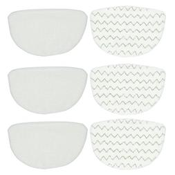 BettaWell Steam Microfiber Mop Refill Pads for Bissell Power