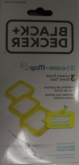 Black & Decker Steam Mop Lemon Fresh Scent Tabs  BDH400ASM n