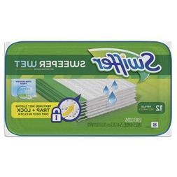 Swiffer Sweeper Wet Mopping Pad Refills for Floor Mop Open W