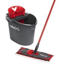 O-Cedar UltraMax Microfiber Flat Mop & Bucket Kit Frustratio