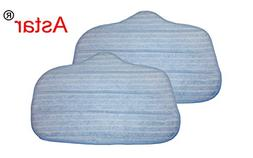Astar 2 Pack Washable Microfiber Steam Cleaner Pads Fits Ste