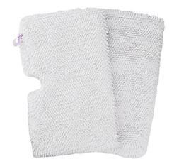 2 Pack Washable Shark Steam Mop Pads Replacement for S3500 s
