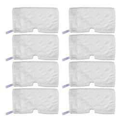 KEEPOW 8 Pack Washable Steam Mop Pads Replacement for Shark