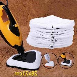 White Color Microfiber Replacement Pad Washable Reusable Clo